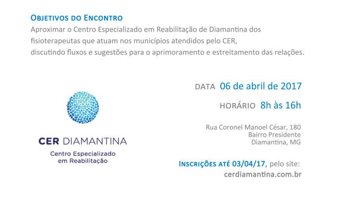 Cartaz Encontro CER e Rede 2017