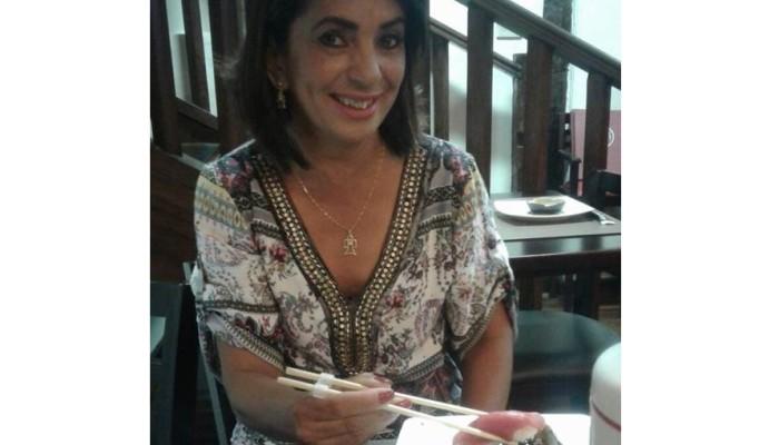 Chirley - Ganhadora do brinde de um jantar no Sushi Barroco